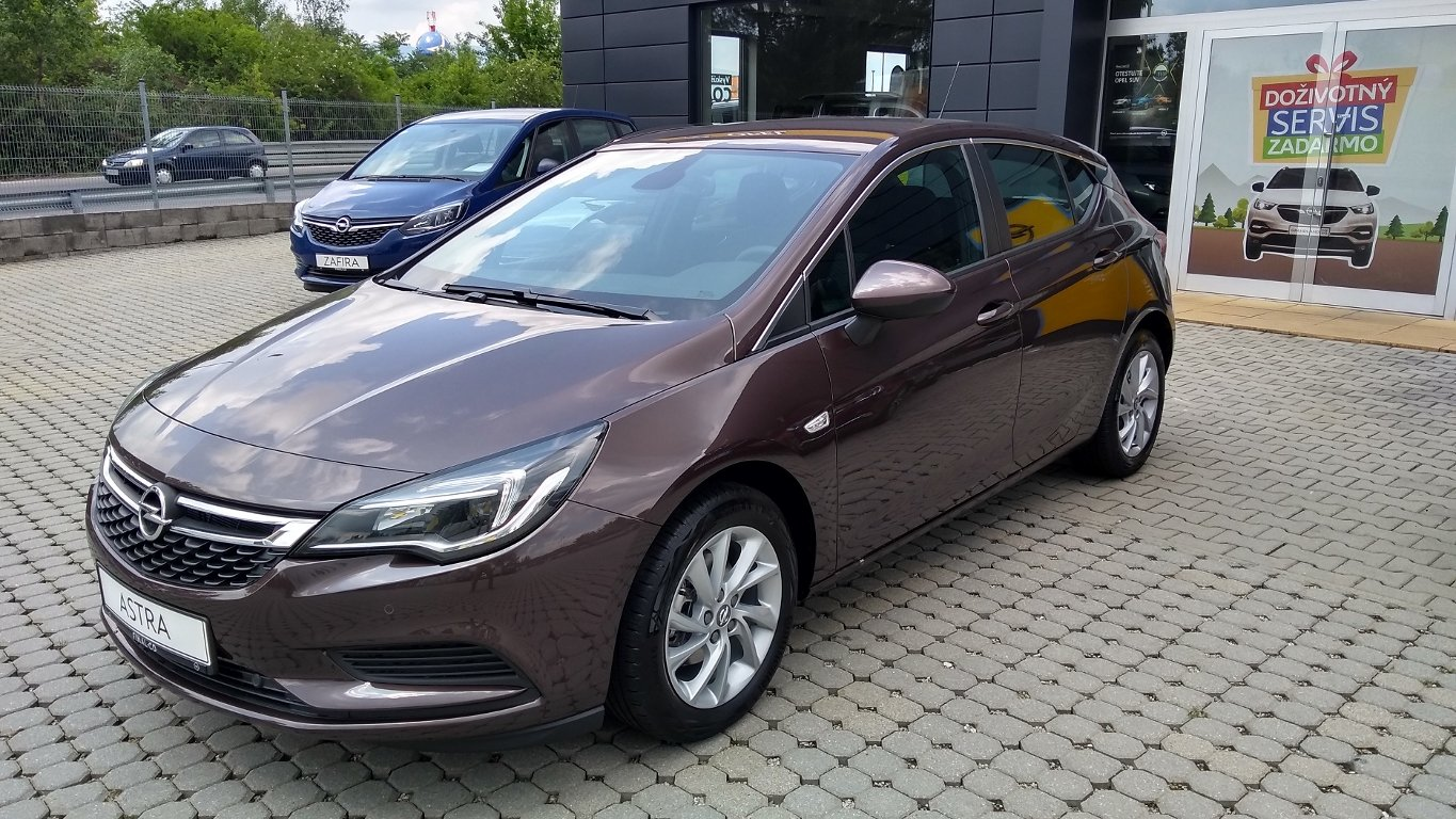 Opel Astra D2Jo 5-door Enjoy D 14 XFT S/S