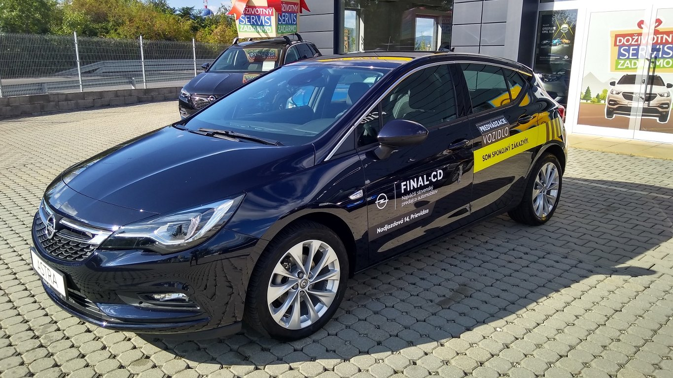 Opel Astra D2Jo 5-door Innovation D 14 XF