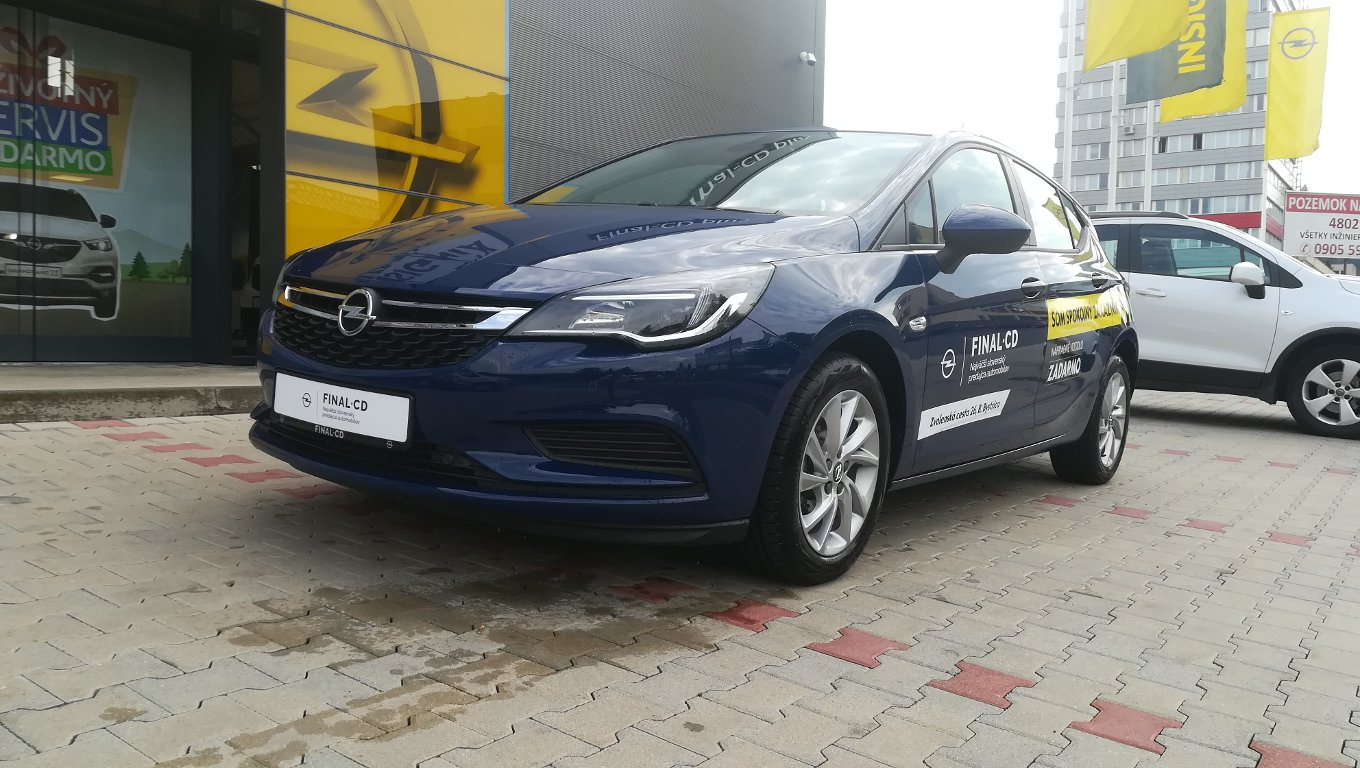 Opel Astra Smile 1,4 Turbo MT6