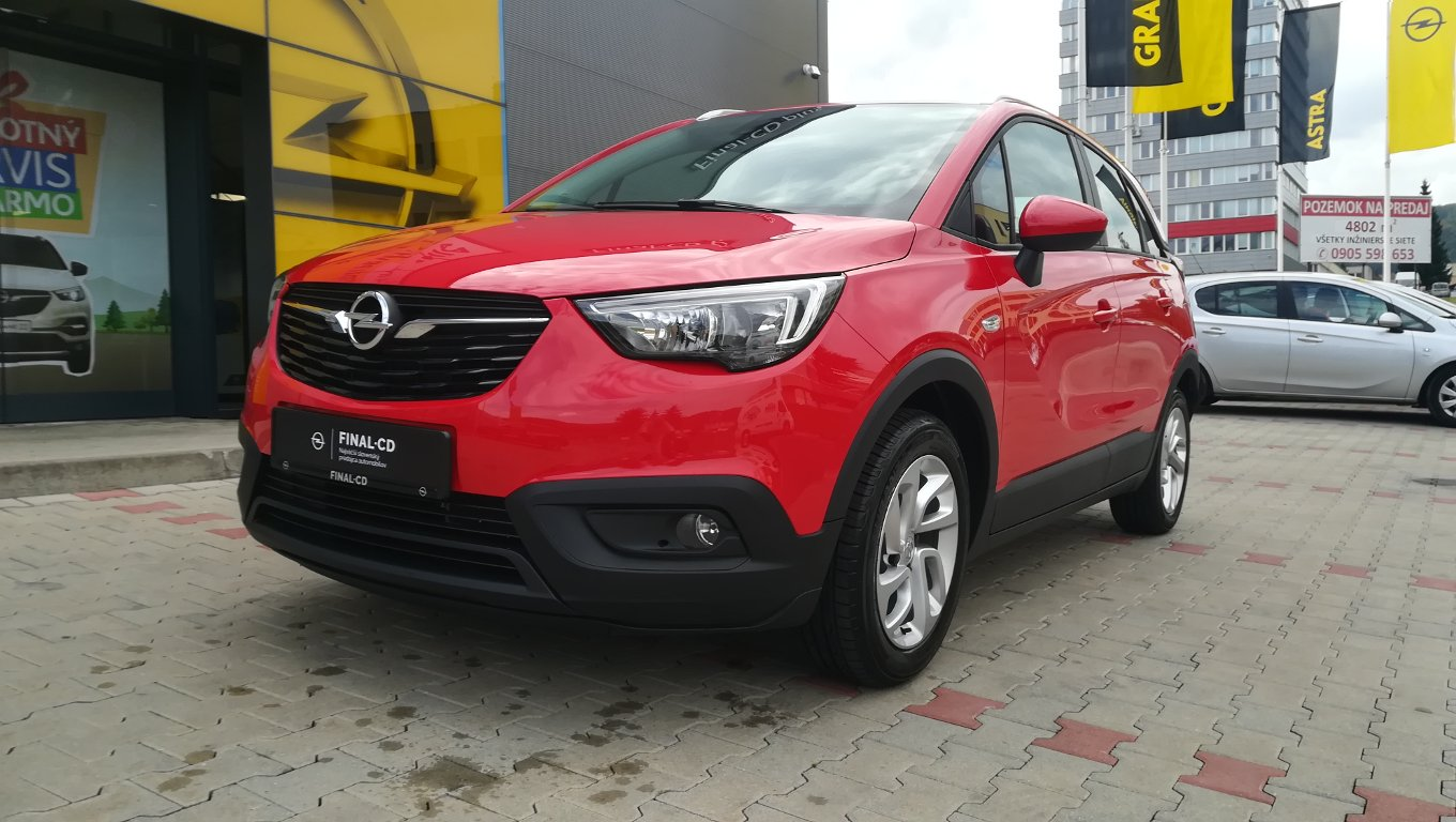 Opel Crossland X Smile 1.2 MT5