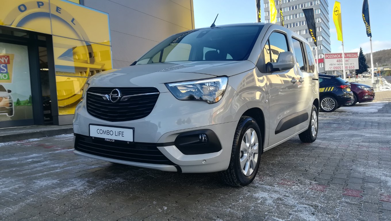 Opel Combo Enjoy L1H1 1,2 Turbo MT6